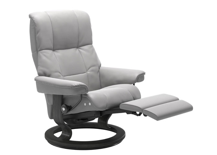 Stressless Mayfair Cori Silver Cloud