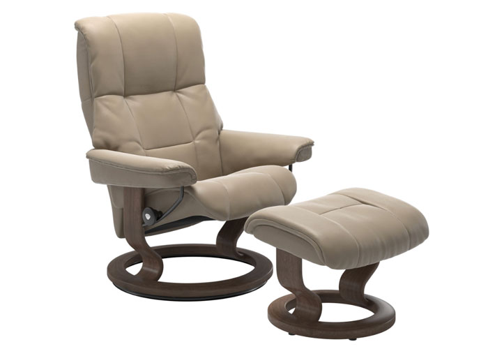 Stressless Mayfair Cuir Cori Fog