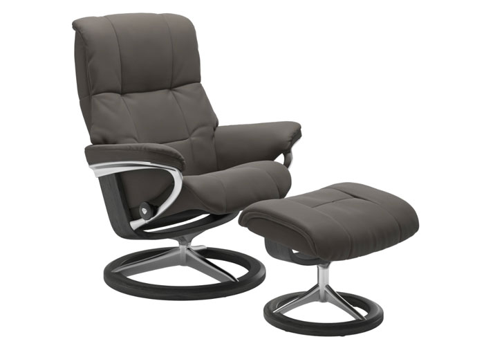 Stressless Mayfair Paloma Metal Grey Pieds Grey