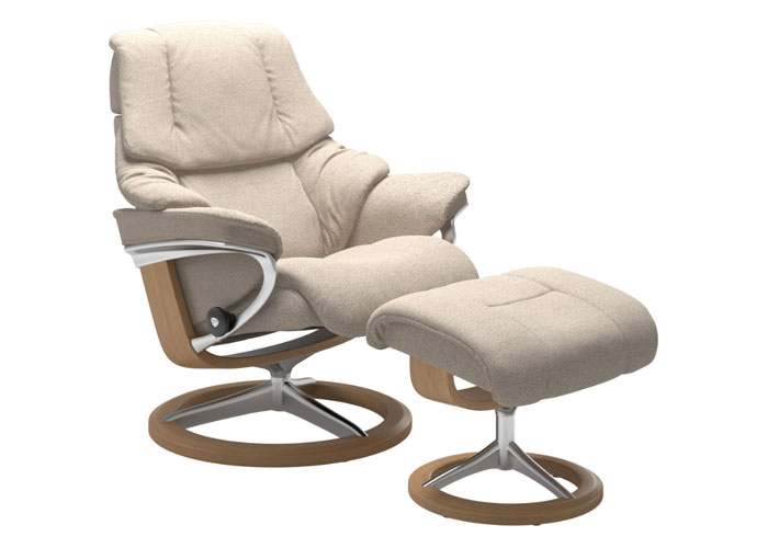 Stressless Reno Tissu Faron Light Beige