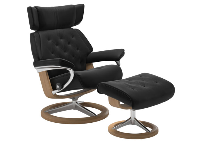 Stressless Skyline Paloma Black